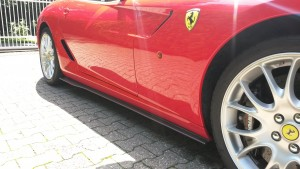 Ferrari 599 Side Skirts